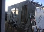 Enclosed acm trailer in progress