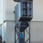 Fume extraction unit for plasma cutter