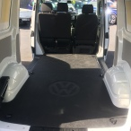 Hard wearing polyethylene floor liner