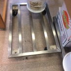 Trolley for a bakery